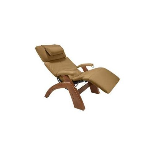 Human Touch Power Perfect Chair Recliner With Electric Pc-095 Walnut Base In Mocha Leather - New In Box