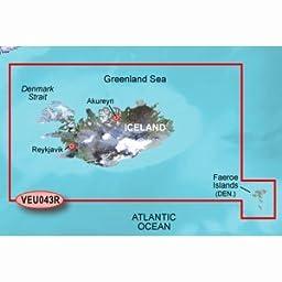 Garmin VEU043R - Iceland & Faeroe Islands - SD Card