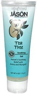 Tea Tree, Soothing Gel, 4 Oz (113 G) By Jason Natural