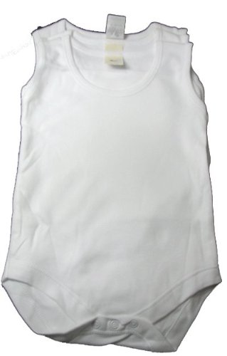 Soft N Snuggly Baby Onesie 3 Infant White Cotton