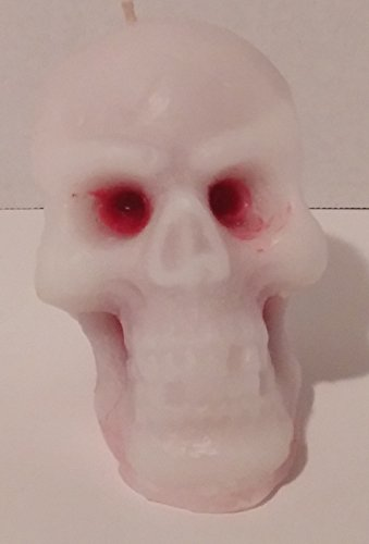Witches Brew Scented Bleeding Skull Candle