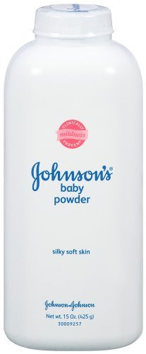 Johnson's Baby Powder, 15-Ounce Bottles (Pack of 4)