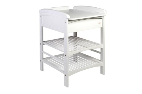 Troll Nicole Changing Table with Drawer (White)