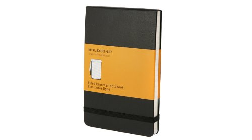 Moleskine Ruled Reporter Notebook