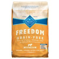 Blue Buffalo Freedom Grain Free Large Breed Adult Chicken Recipe Dry Dog Food