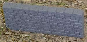 Stone Wall Large 3ea 28mm Miniature Terrain