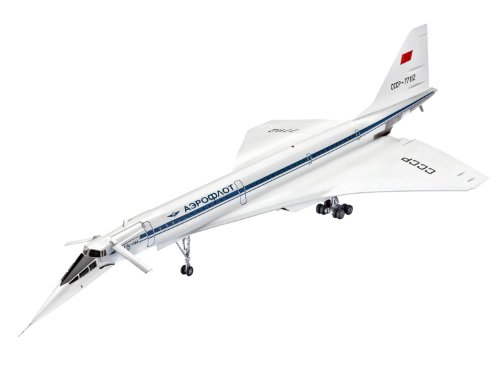Revell レベル 04871 Tupolev Tu-144D ツポレフ 1/144 [並行輸入品]