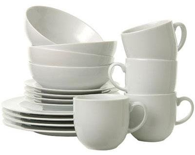 Denby White by Denby 16 Piece Boxed Tableware Set