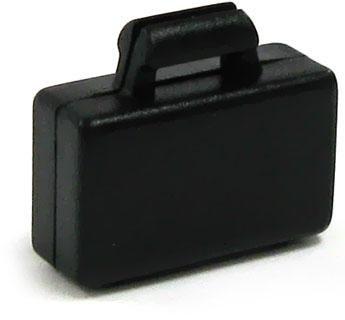LEGO City LOOSE Accessory Black Briefcase - 1