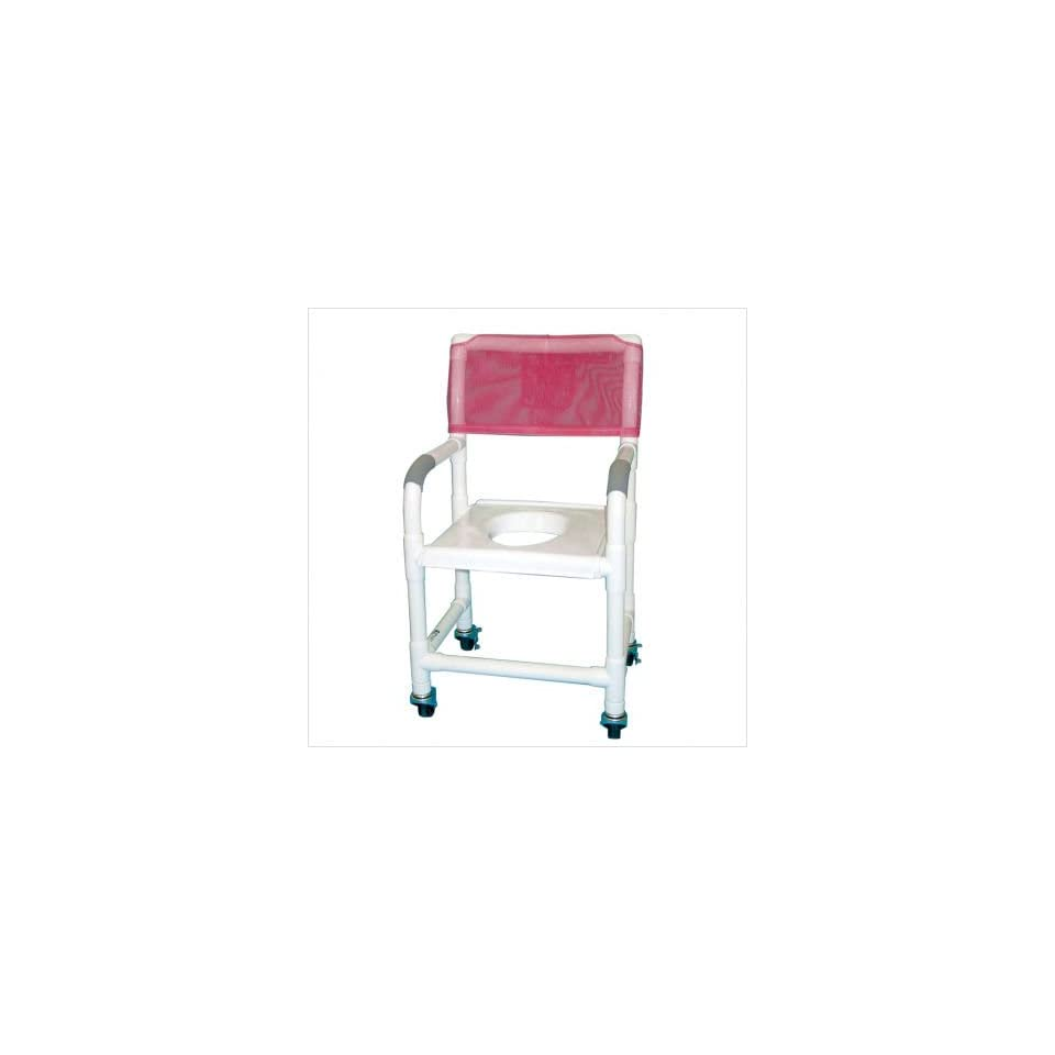 MJM International 118 3 VS KIT Standard Deluxe Shower Chair with Clamp On Seat and Optional Accessories
