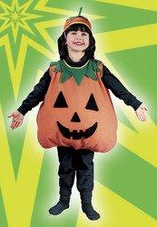 Fun World Plump Pumpkin Toddler Costume Large (3T-4T)