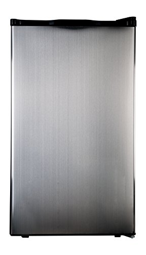 Haier HC40SG42SS 4 Cubic Feet Refrigerator/Freezer, Black Interior, Stainless Steel Door (Stainless Dorm Refrigerator compare prices)