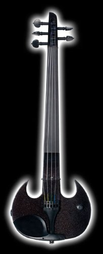 Sv5 Mark Wood Black Stingray 5-String Electric Violin Or Viola With Free Bow And Case
