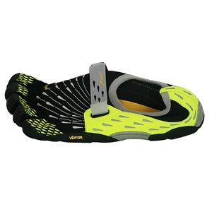 Vibram Mens SeeYa Running Shoe Black / Dayglow Size 40