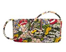 Vera Bradley Knot Just a Clutch Purse - Poppy Fields