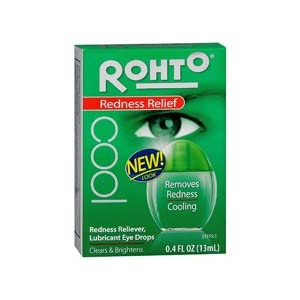 Rohto V Cool Lubricant Eye Drops 0.4 Oz