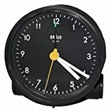 Braun Travel Alarm Clock AB5 Round Black