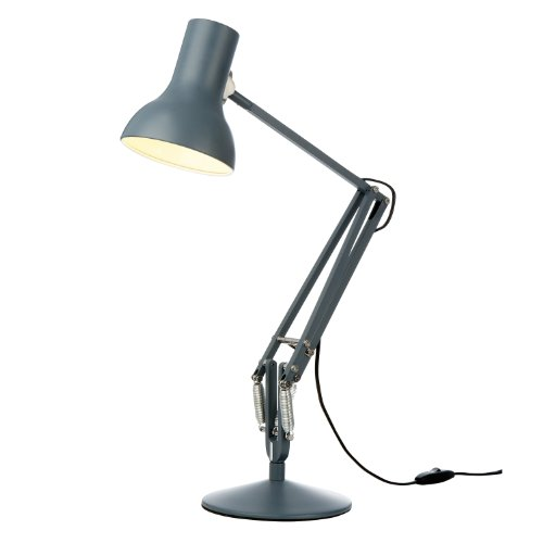 Anglepoise Type 75 Mini Desk Lamp, Slate Grey Shade