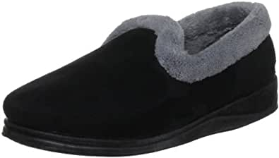 Padders Women's Repose Black Fleece and Fur Lined 406 3 UK