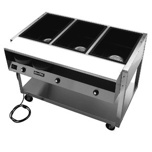 3 Well ServeWell® Food Station (15-0073) Category: Heat Lamps, Food Warmers and Accessories