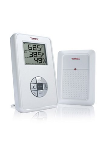 Timex Wireless Electronic Indoor/Outdoor Thermometer With Hygrometer (Tx6010)