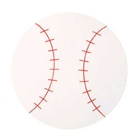 Foamies Foam Shapes - Baseballs