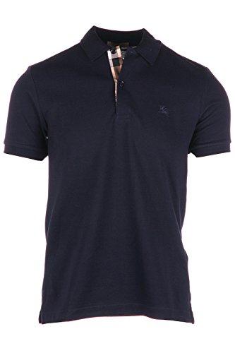 Burberry polo t-shirt maglia maniche corte uomo blu EU XS (UK 34) 40106941