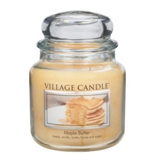 Village Candle Maple Butter - Candela profumata in barattolo, 14 x 10 cm, 899 g
