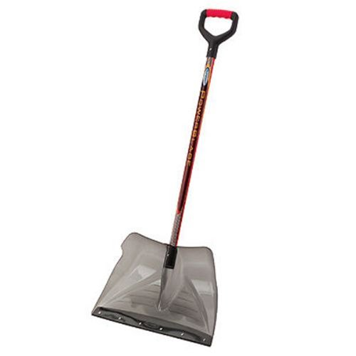 Suncast SCP3500 20-Inch Snow Shovel/Pusher Combo Powerblade with Shatter Resistant Polycarbonate Blade with D-Grip Handle And Wear Strip