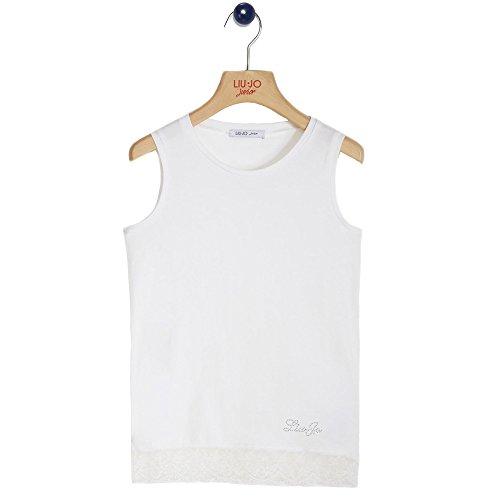 Liu Jo - T-shirt, Colore: Bianco Taglia: 8 Anni