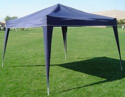 10 x 10 EZ POP UP BLUE Canopy New Gazebo NO Sidewalls