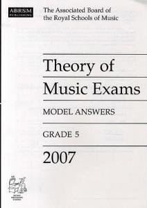 ABRSM Theory Of Music Examinations: Model Answers - Grade 5 (2007)