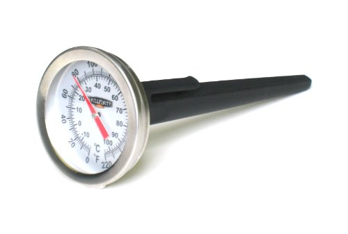 Grillfinity 570120 2-Inch Dial Instant Read BBQ Thermometer