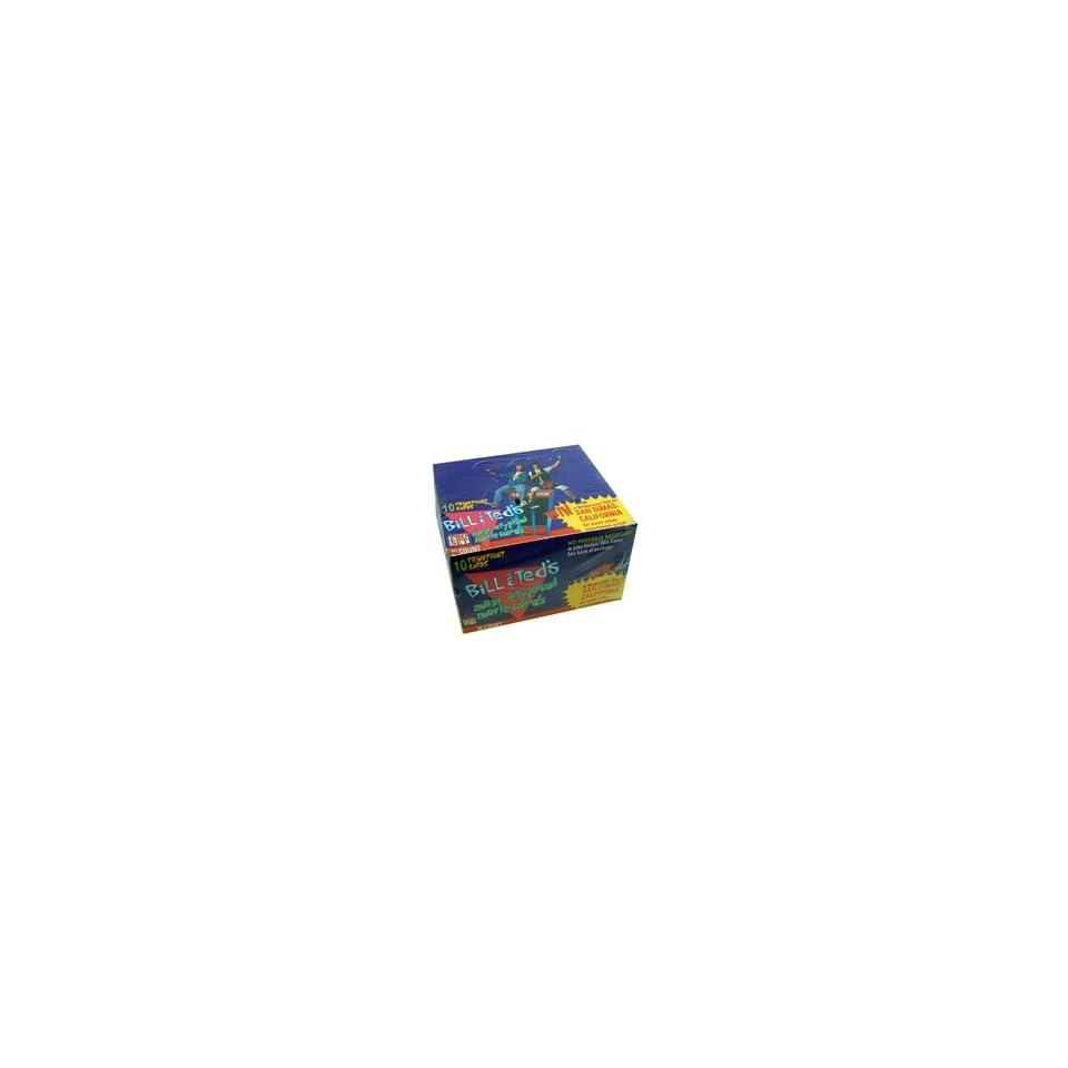 1991 Bill & Teds Big Adventure Trading Cards   Wax Box