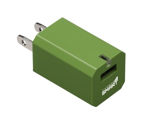 Bussmann Umc04 Chargesmart Universal Mobile Charger, Green Apple