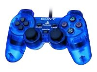 Official Sony PlayStation 2 DualShock 2 Controller - Blue