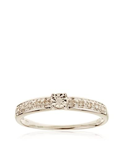 DIAMANTINI Anillo Solitaire Brillant Oro Blanco