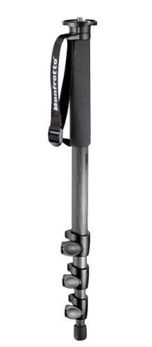 Manfrotto 4 Section Carbon Fiber Monopod