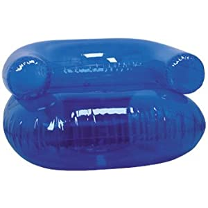36 Inflatable Blow Up Chair Blue Toys