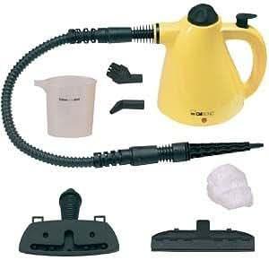 Clatronic Dampfreiniger DR 2930/283009 gelb-schwarz