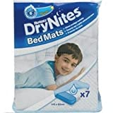 THREE PACKS of Huggies Drynites Bed Mats 7