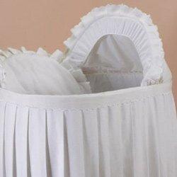 Bassinet Liner Skirt And Hood front-209334