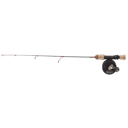 Frabill Straight Line 241 Bro Series Ultra-Light Ice Fishing Combo, 24-Inch