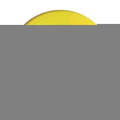 SAXON13CAP Cool Teen Wolf Logo 150g Yellow Toys Flying Disc