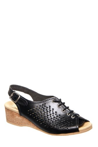 Worishofer 583 Low Wedge Lace-Up