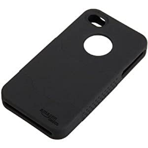 AmazonBasics Silicone Case and Screen Protectors for Apple iPhone 4 and 4S