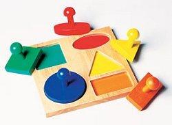Geometric Puzzle Board - Buy Geometric Puzzle Board - Purchase Geometric Puzzle Board (Guidecraft Geometric Puzzle Board, Toys & Games,Categories,Preschool,Pre-Kindergarten Toys,Puzzles)