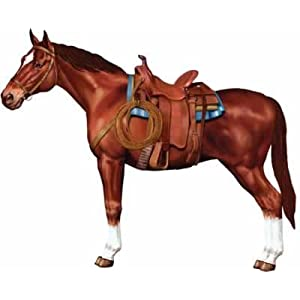 Click to buy Jointed Horse Cutout 3 1/2ftfrom Amazon!