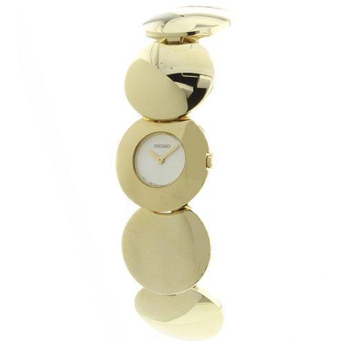 Montre Femme SEIKO SUH 002 - Quartz - Bracelet : Cuir noir façon croco
