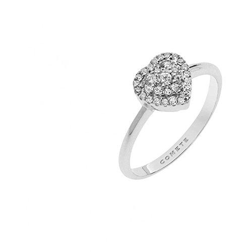 anello donna gioielli Comete Bianca classico cod. ANB 2169